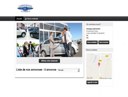 Chevigny automobiles : vente véhicules...