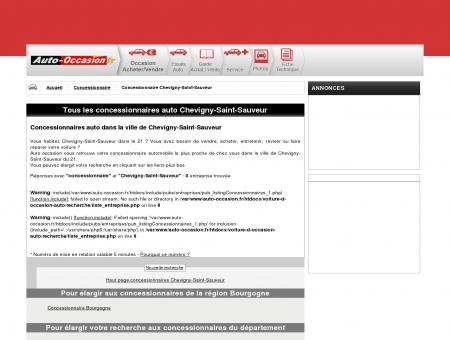 concessionnaire auto Chevigny-Saint-Sauveur...