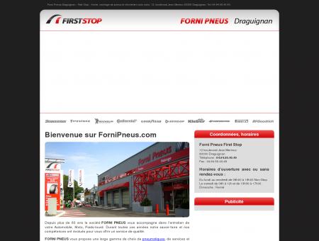 Forni Pneus Draguignan - First Stop : vente de...