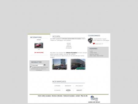 Vente voiture occasion Marne - Auto Désir -...