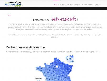 Auto Ecole Info : annuaire des auto-ecoles et...