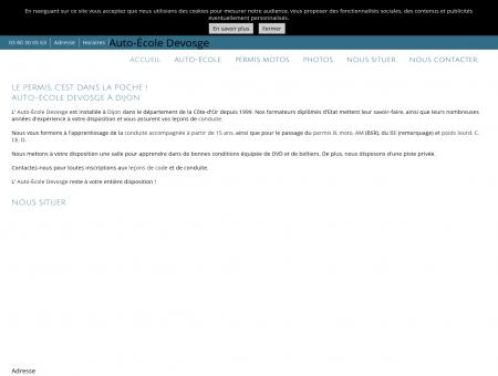 Auto-École Devosge à Dijon en Côte-d'Or (21)