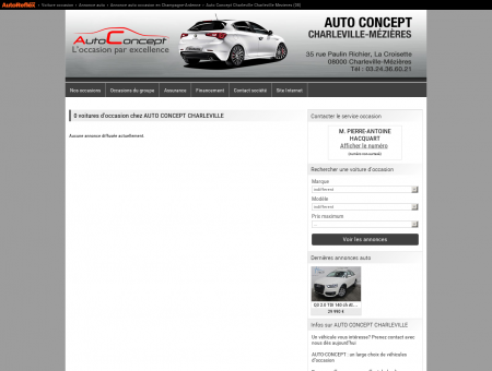 AUTO CONCEPT CHARLEVILLE - CHARLEVILLE...