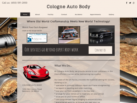 Welcome to Cologne Auto Body