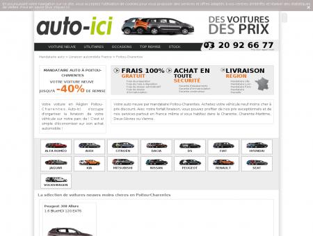 Mandataire Auto Poitou-Charentes - Vente de...