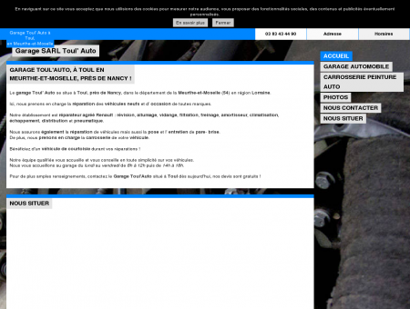 Garage SARL Toul' Auto à Toul, Meurthe-et...
