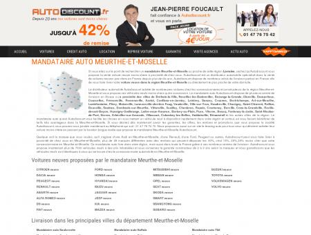 Mandataire auto Meurthe-et-Moselle : voiture...