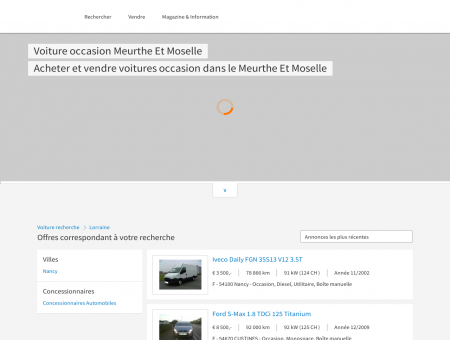 Voiture occasion Meurthe Et Moselle, 54,...