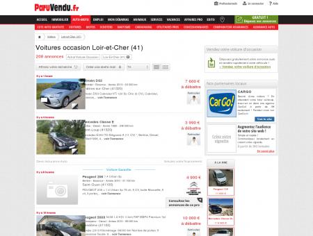 Voiture occasion Loir-et-Cher (41) : annonces...