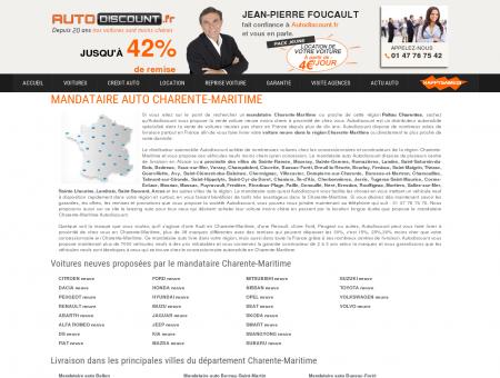 Mandataire auto Charente-Maritime : voiture...