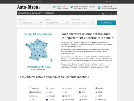 Mandataire auto Charente-maritime