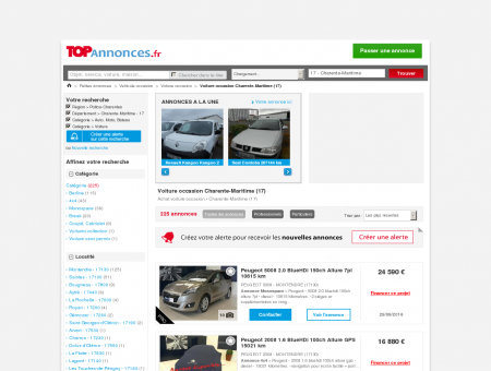Voiture occasion Charente-Maritime (17) :...