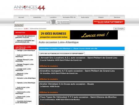 Auto occasion Loire-Atlantique - Le 44 #...