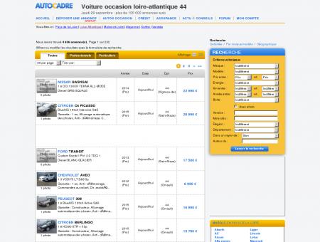 Loire-Atlantique 44 voiture occasion, plus de...