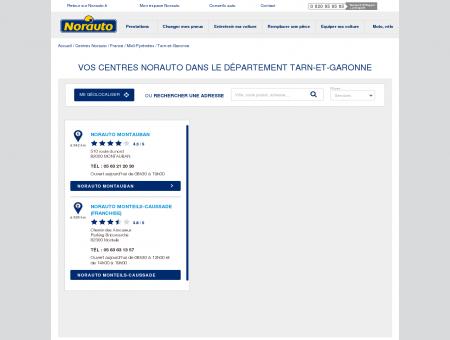 Norauto Tarn-et-Garonne - Garages Tarn-et...