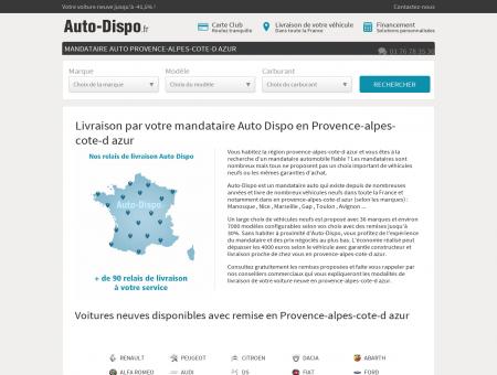 Mandataire auto PROVENCE-ALPES-COTE-D...