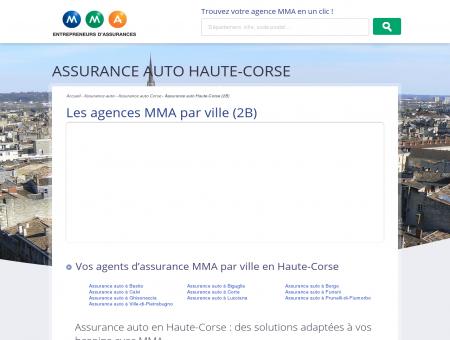 Assurance auto Haute-Corse  trouvez votre...