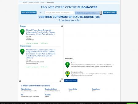 Centre auto Haute-Corse, pneus et entretien...
