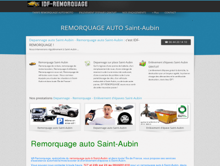 REMORQUAGE AUTO Saint-Aubin -...