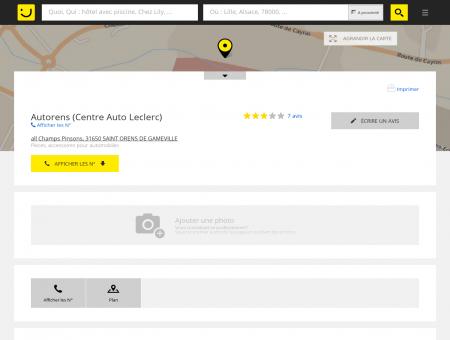 Autorens (Centre Auto Leclerc) - Autorens...