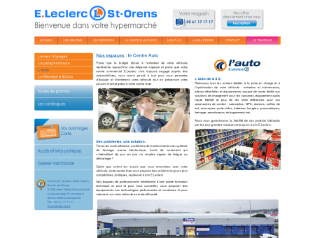 Centre E.Leclerc Saint Orens Toulouse  Votre ...