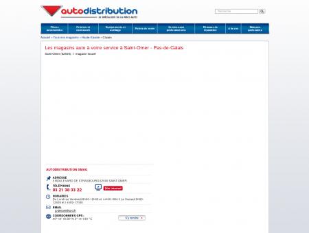 Les magasins auto à Saint-Omer (62500) - Pas...