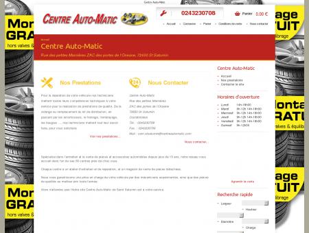 Centre Auto-Matic 72650 St Saturnin