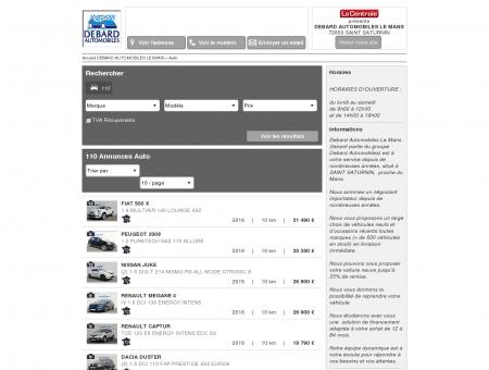 DEBARD AUTOMOBILES LE MANS - 72650...