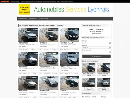 AUTOMOBILES SERVICE LYONNAIS - SAINT...