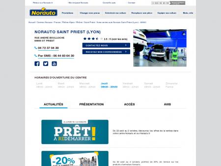 Norauto Saint Priest (Lyon) - Centres auto...