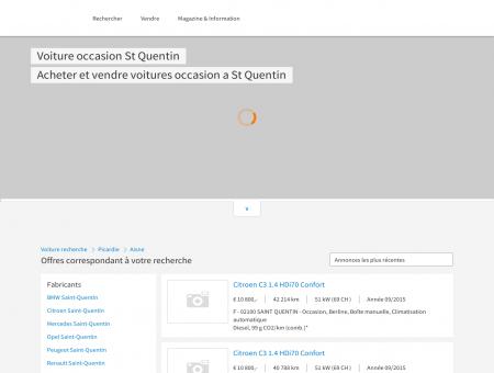 Voiture occasion Saint-Quentin, 02, Aisne,...