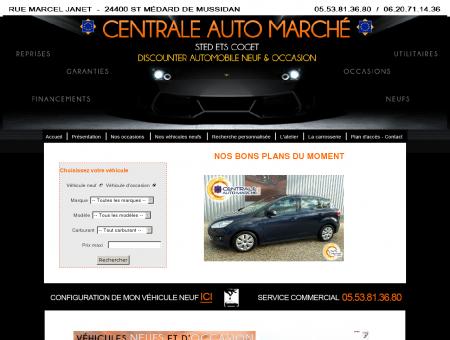 CENTRALE AUTO MARCHE - DORDOGNE