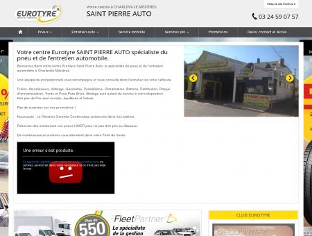 Eurotyre SAINT PIERRE AUTO - CHARLEVILLE...