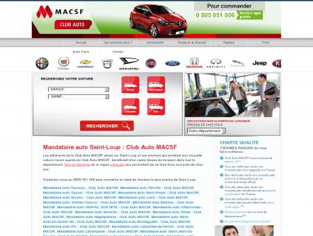 Mandataire auto Saint-Loup : Club Auto MACSF