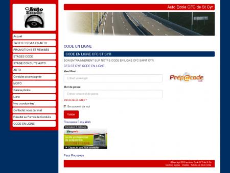 Le code en ligne - Auto Ecole CFC - St Cyr -...