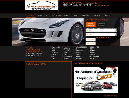 Mandataire auto ST CYR  St Cyr Automobiles...