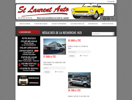 Nos occasions - Saint Laurent Auto