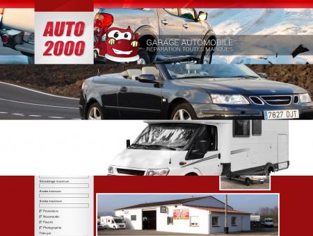 Bienvenue sur le site d'Auto 2000.