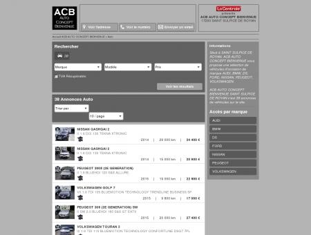 ACB AUTO CONCEPT BIENVENUE - 17200...