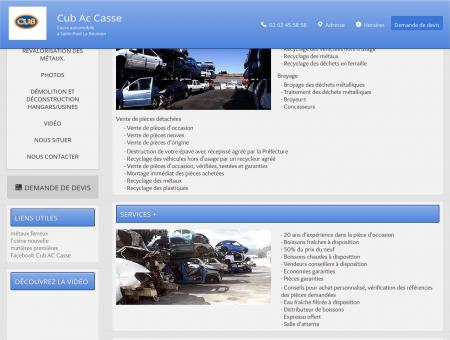 Casses automobiles Saint Paul - Cub Ac Casse