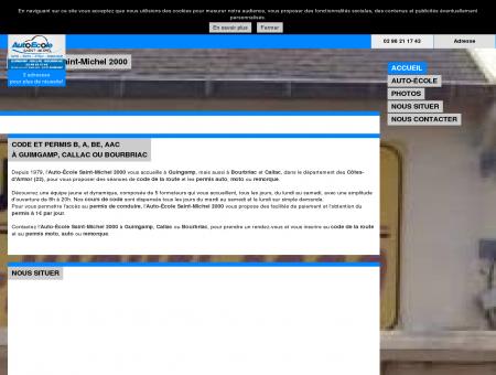 Accueil - Auto-École Saint-Michel 2000 à...