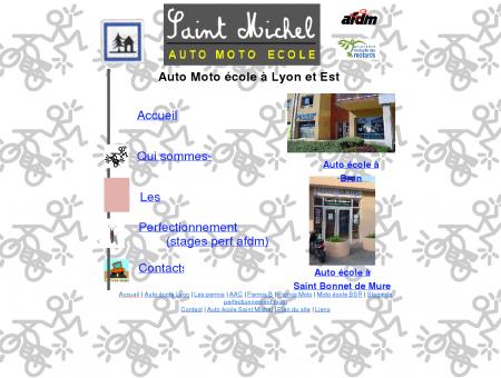 Auto Moto école à Lyon, Bron, Saint Bonnet de...