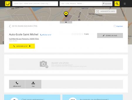 Auto-Ecole Saint Michel Toul (adresse) -...