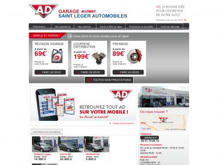 Accueil - SAINT LEGER AUTOMOBILES - Accueil...