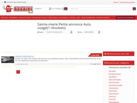 Annonce Auto usagé Sainte-marie | Annonce...