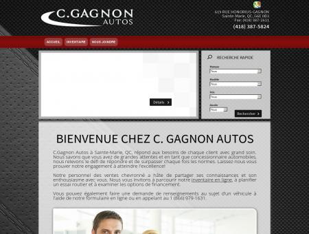 C.GAGNON AUTOS - Marchand de véhicules...