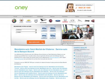 Mandataire auto Saint-Martial-de-Vitaterne :...