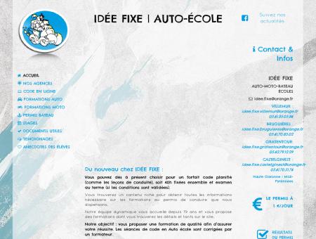 IDEE FIXE | Bienvenue à l'auto-école Idée Fixe !