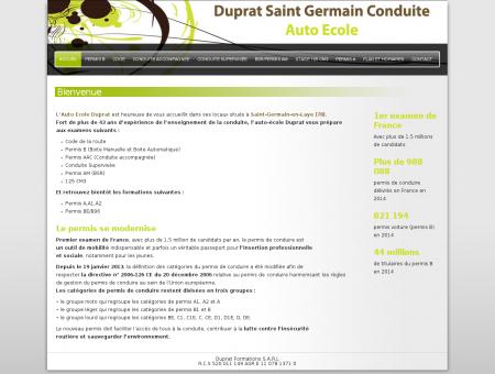 Duprat Saint-Germain Conduite