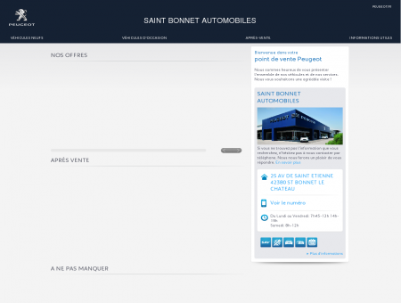 SAINT BONNET AUTOMOBILES, Votre point...